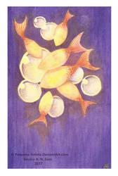 Purple Fish by Pequena-Artista
