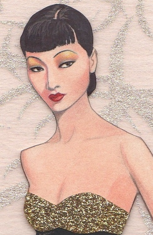 Anna May Wong paper doll by pdgregg