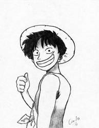Monkey D Luffy by CCaceres