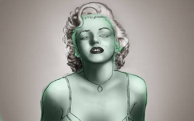 marilyn monroe by CCaceres
