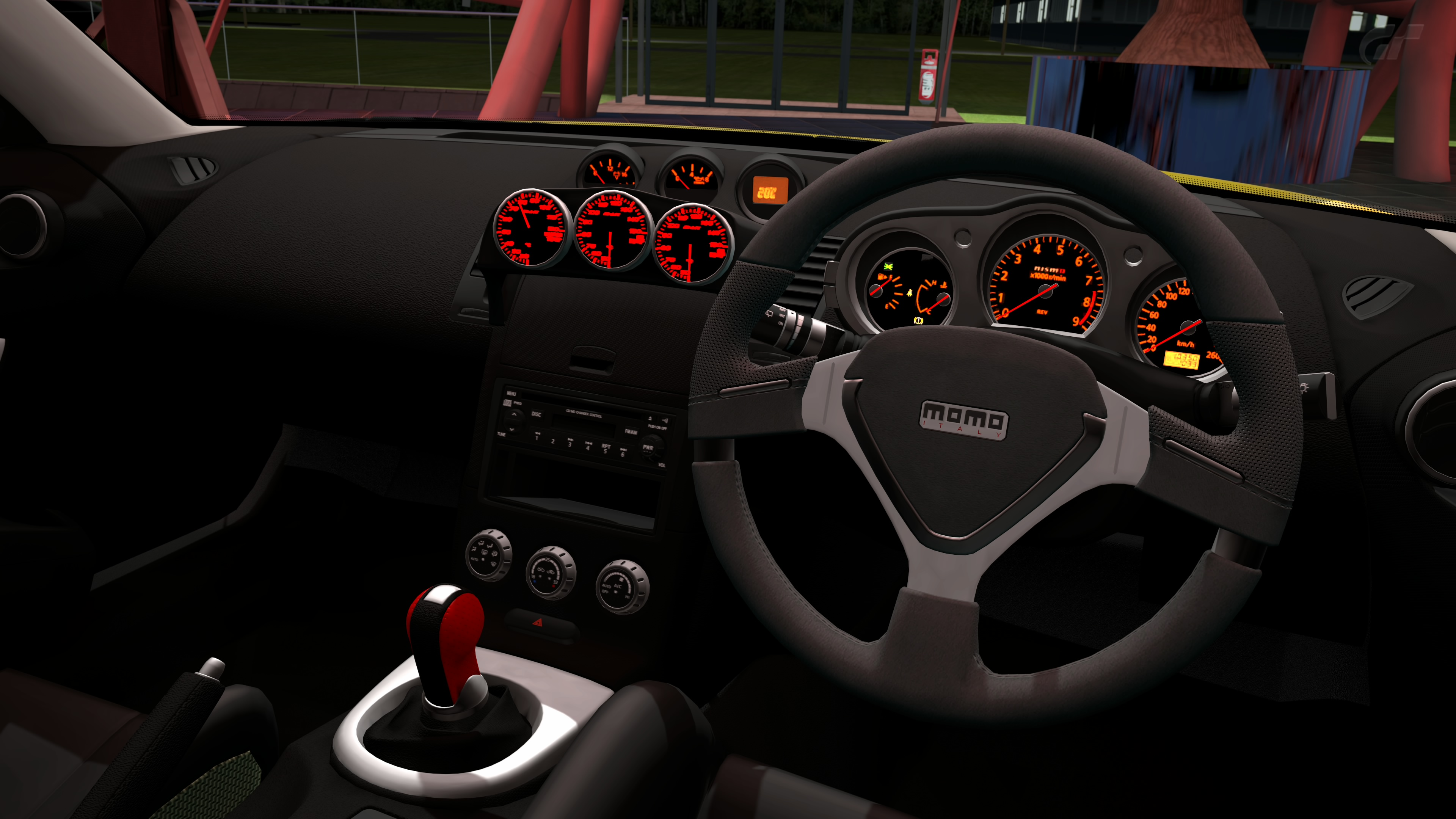 Amuse 350z interior by ironcock on deviantart for Interieur 350z