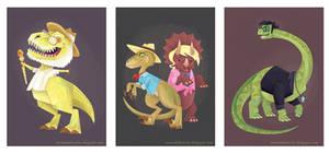 Jurassic Park Gang