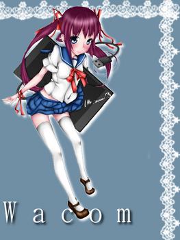 wacom girl