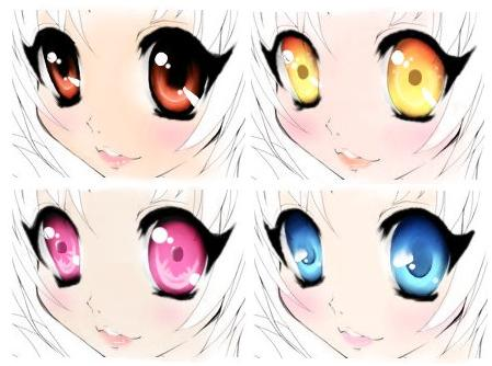 how to .. eye coloration