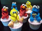 Baby Big Bird Cookie Monster Elmo