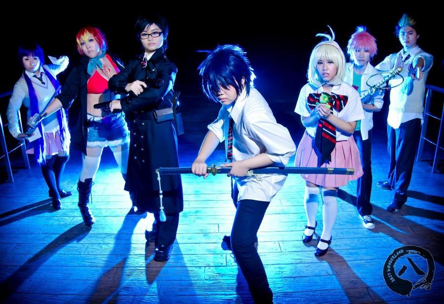 Ao no Exorcist: Ready for battle by koushiroizumi2005
