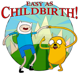 Adventure Time: Easy As Childbirth