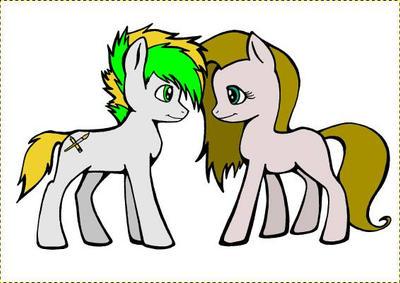 OC ponies
