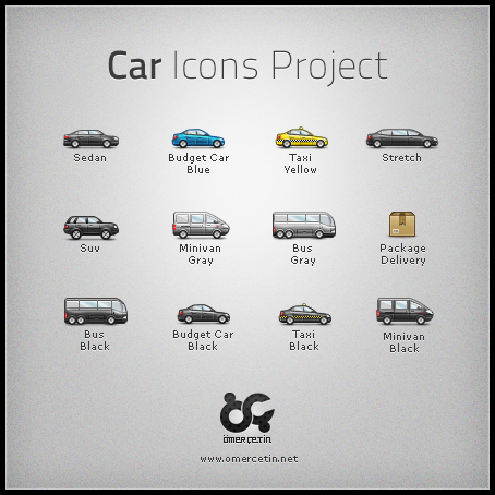 Car Icons Project