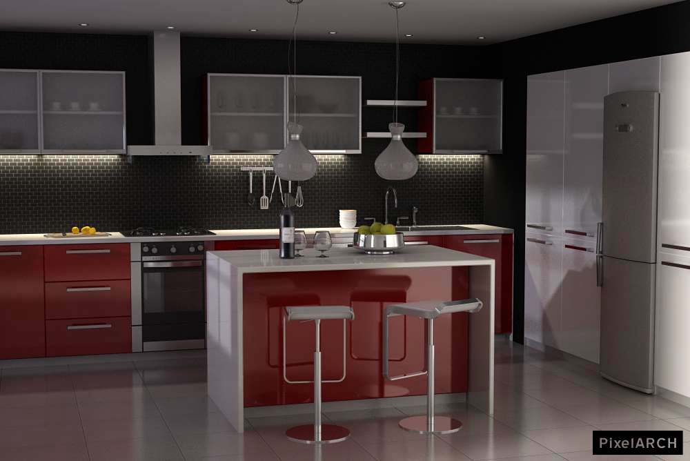 A Kitchen Design For My Sister By ~temtaker On DeviantART
