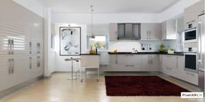 A kitchen application for a vi