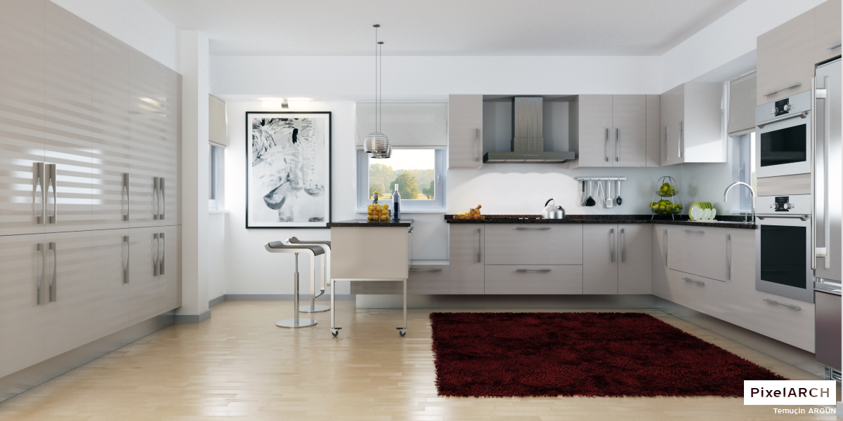 Contemporary Kitchen Art Decor