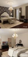 An interior design for client