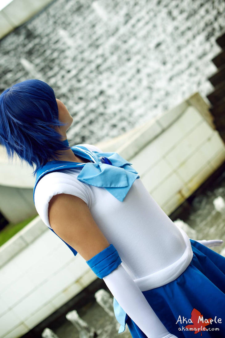 Sailor Mercury- AniRevo 2014 by FlyingPanda4