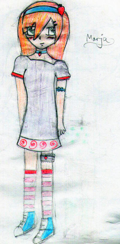 moe-anime-art: Marja by TypoPocky