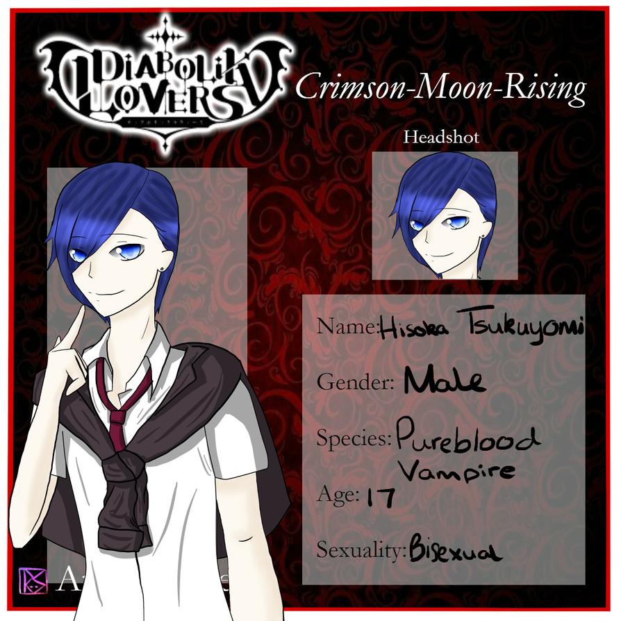 CMR App: Hisoka Tsukuyomi by AshesSakura