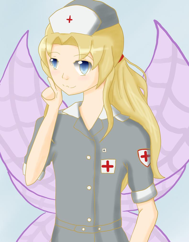 VA Assignment one - WW2 Nurse Gael by AshesSakura