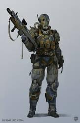 Raider character design