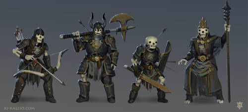 Skeleton character concepts