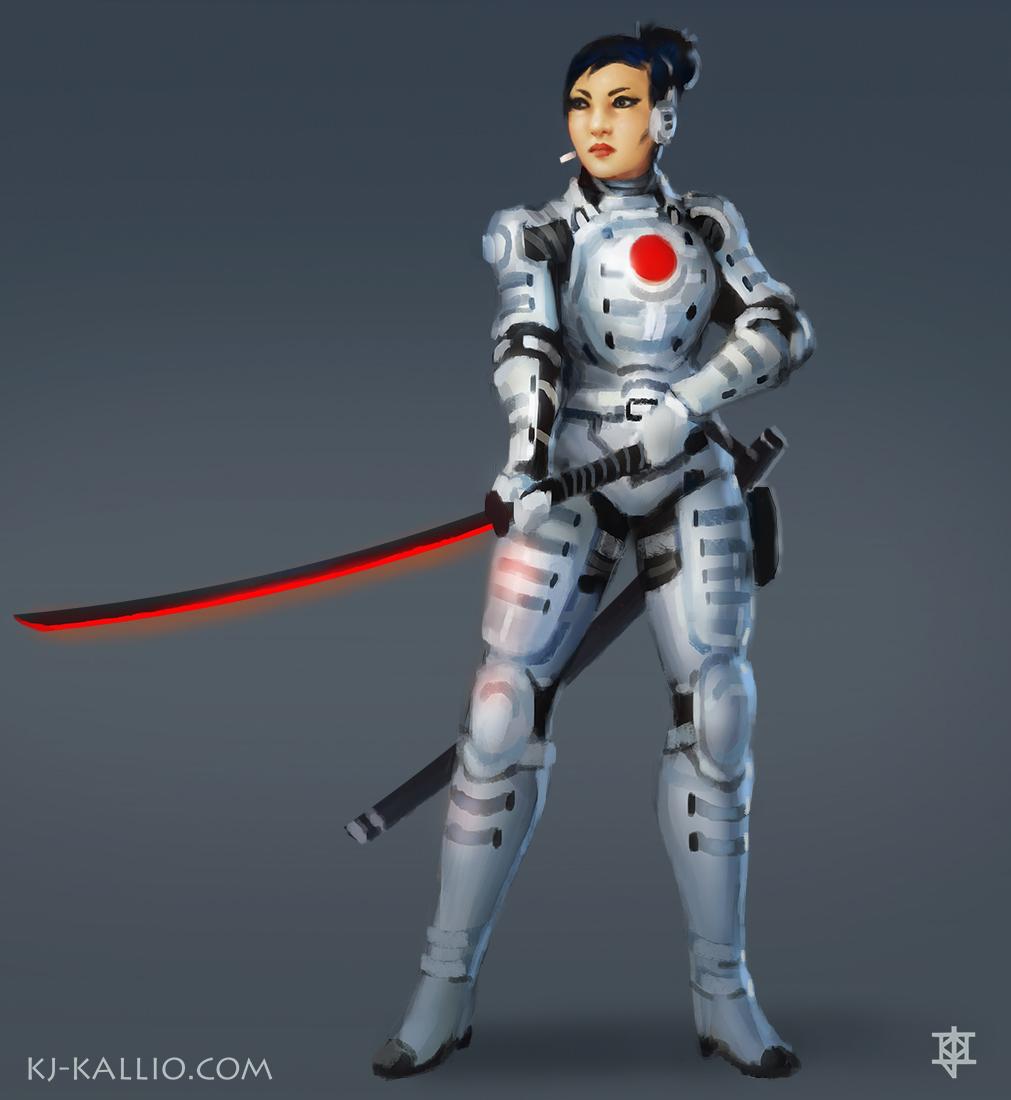 Neo-Samurai concept by KJKallio