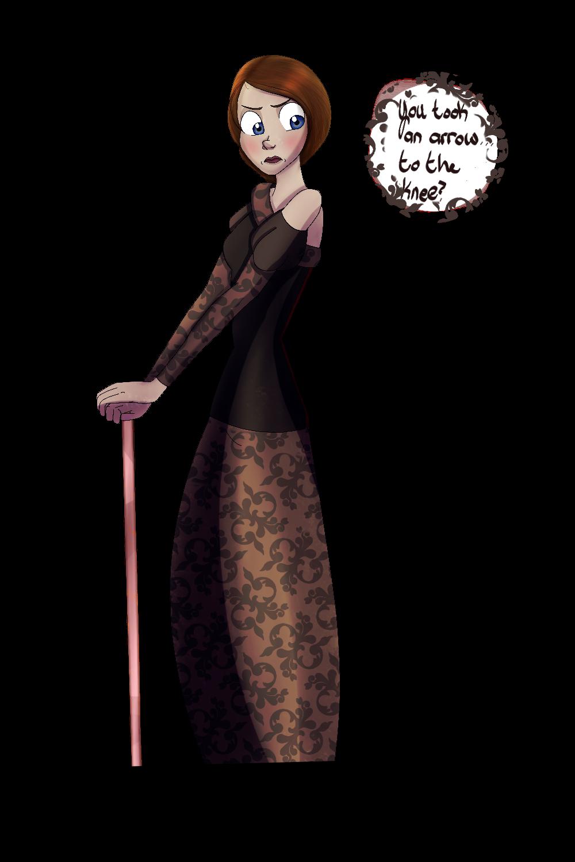 Ros doodle - GoT by Aevlynran