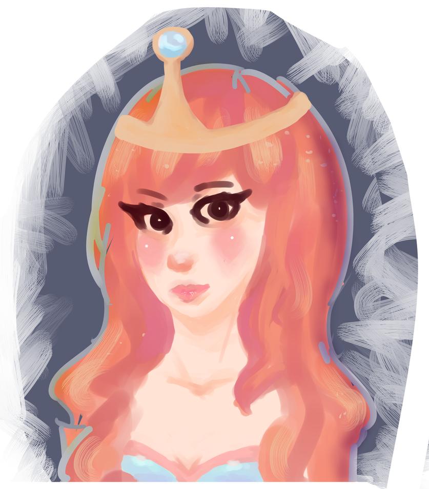 Princess Bubblegum (AT Speedpaint) by pandacreation