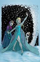 Frozen by CallahanColor