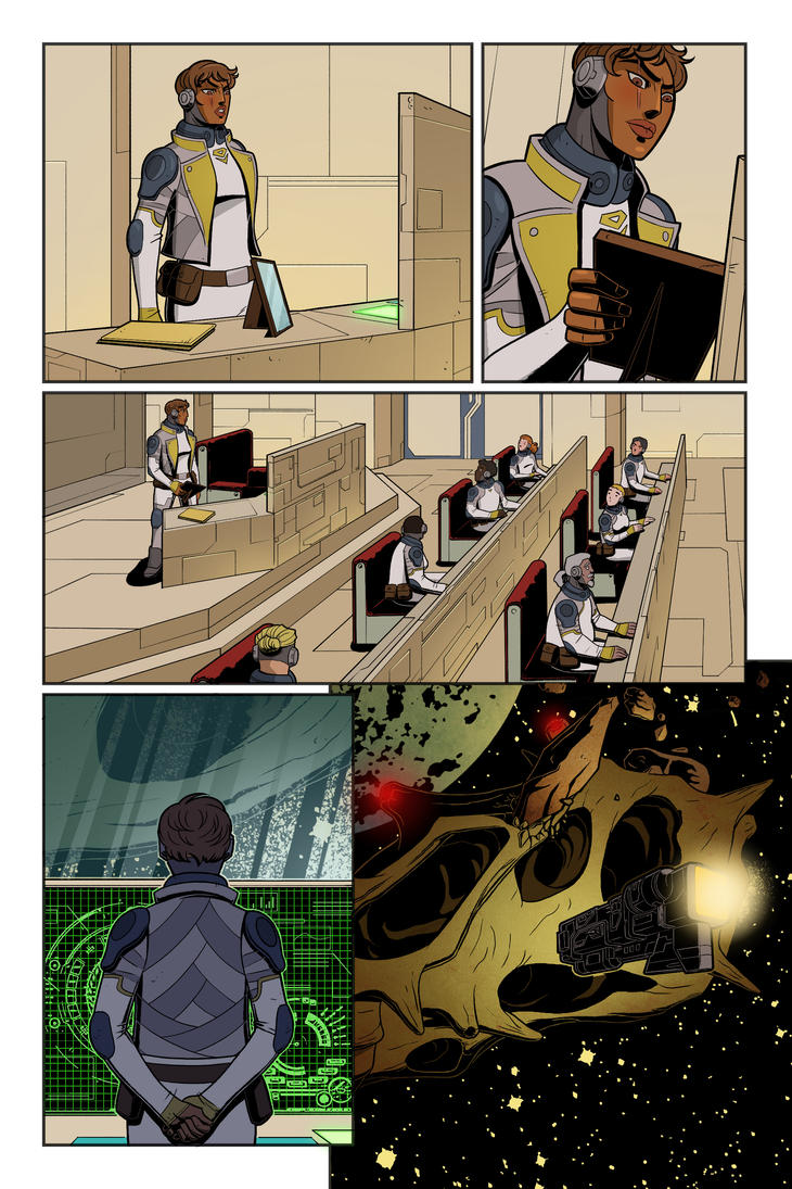Lionheart page 3 by CallahanColor