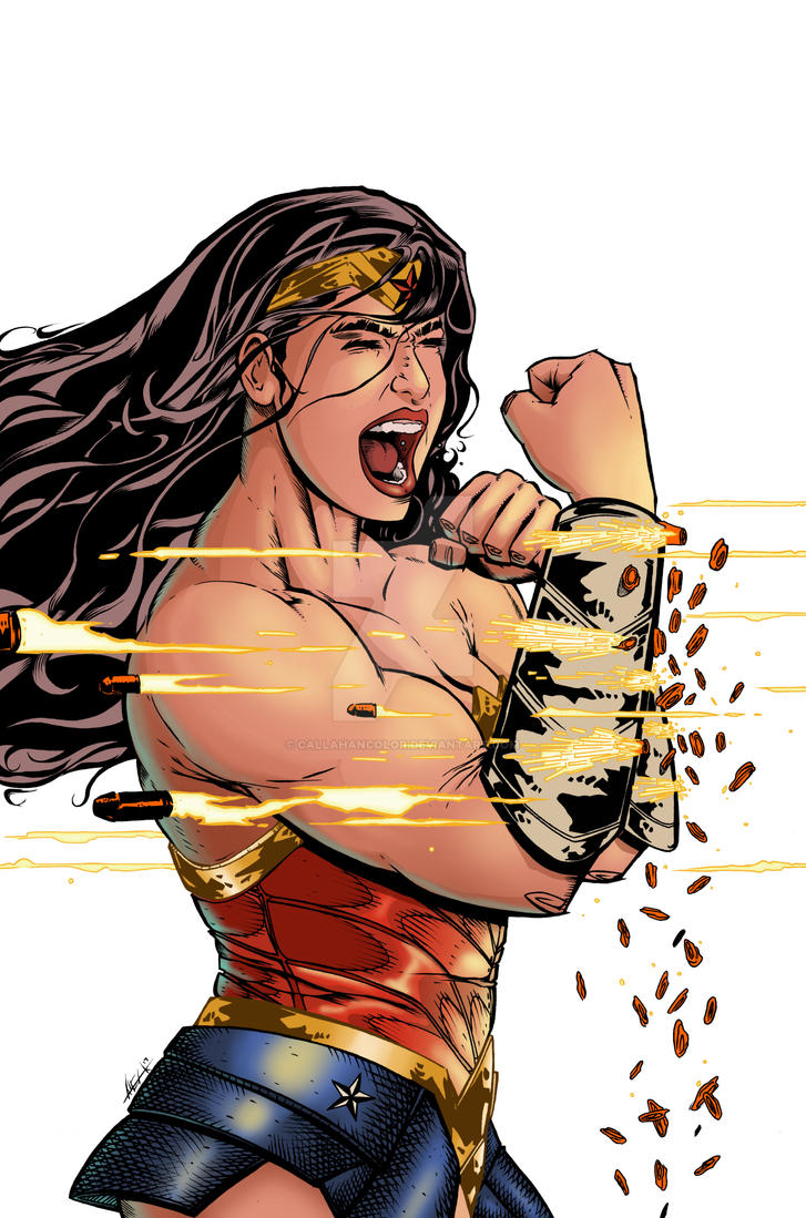Wonder Woman 2017 by CallahanColor