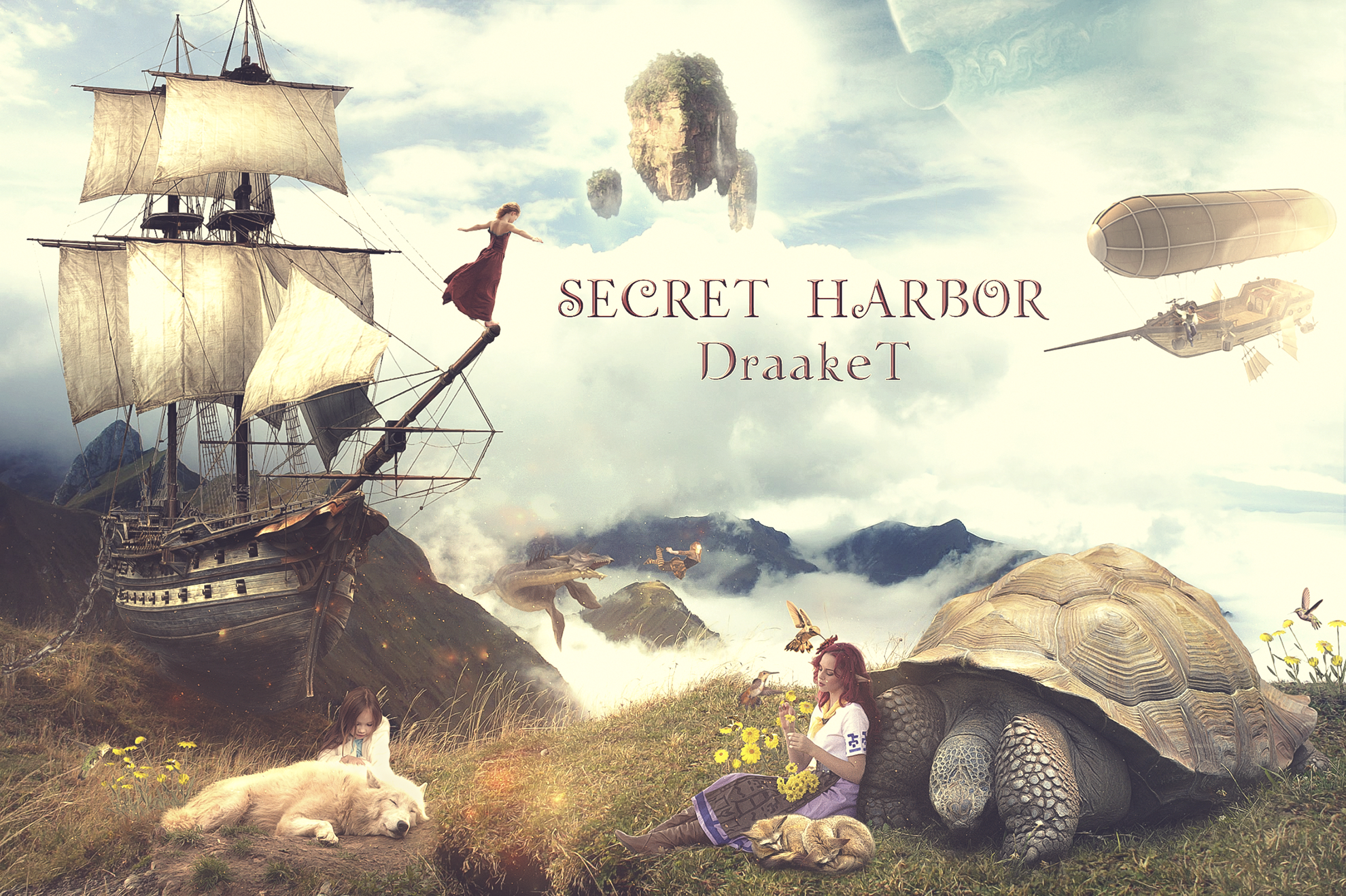 Secret Harbor by DraakeT 1980x1318 by DraakeT