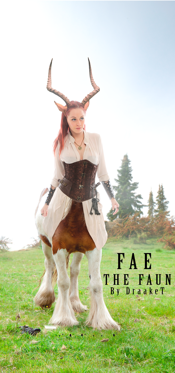 Fae The Faun by DraakeT by DraakeT