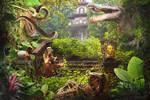 Secret Garden 1920x1280 by DraakeT