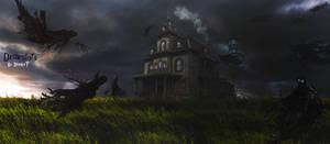 Dementors by DraakeT 2200x966 Final by DraakeT