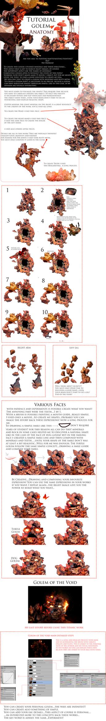 Tutorial Golem Anatomy by DraakeT by DraakeT