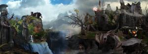Angmar Fell Beast by DraakeT