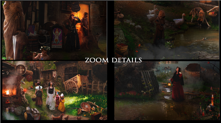 Zoom Details Andorhal 1 by DraakeT