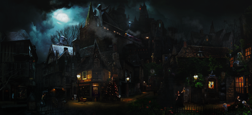 Knocturne-Diagon Alley Extended by DraakeT