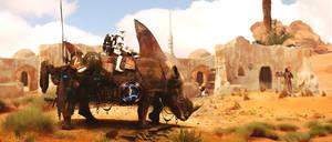 Imperial Titan Rhino by Draaket