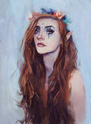 Summertime Fairy by Sacrilence