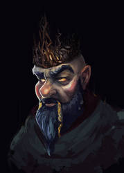 Dwarf King by Sacrilence