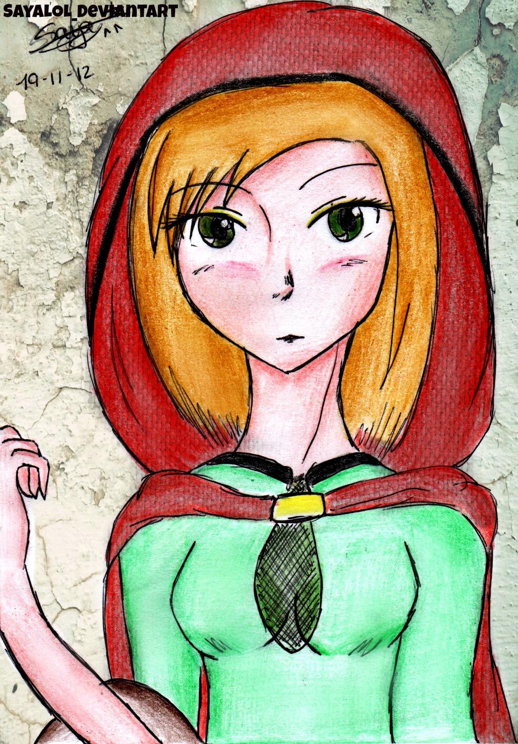 Caperucita Roja by SayaLOL