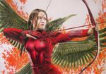 Katniss Everdeen: The Mockingjay  Drawing