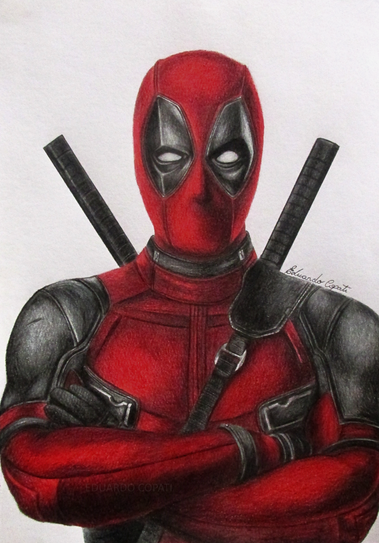 Deadpool (Drawing) by EduardoCopati on DeviantArtDeadpool Sketch