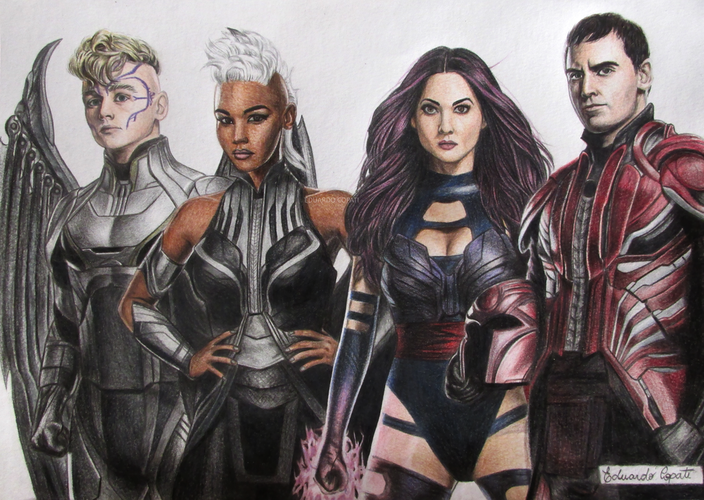 X-MEN: The Four Horsemen of Apocalypse by EduardoCopati
