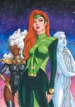 Jean, Emma and Storm - Hellfire Gala