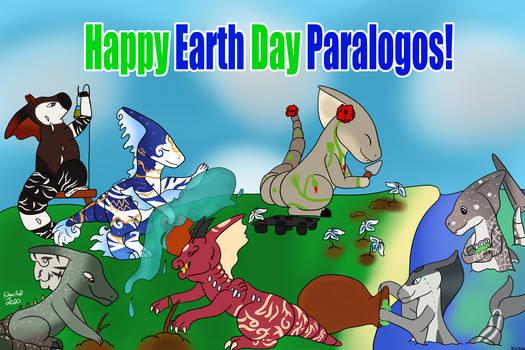 (Collab art) Para Earth Day Gift Art