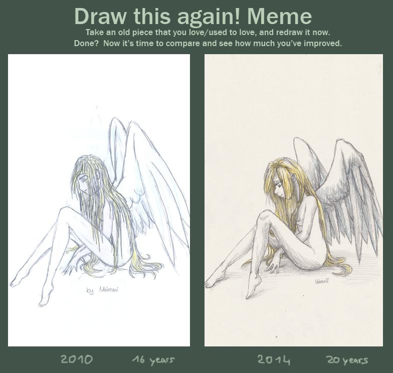 Sad Angel Improvement by Nahemii