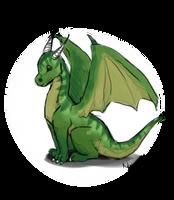 Dragon Doodle by Nahemii