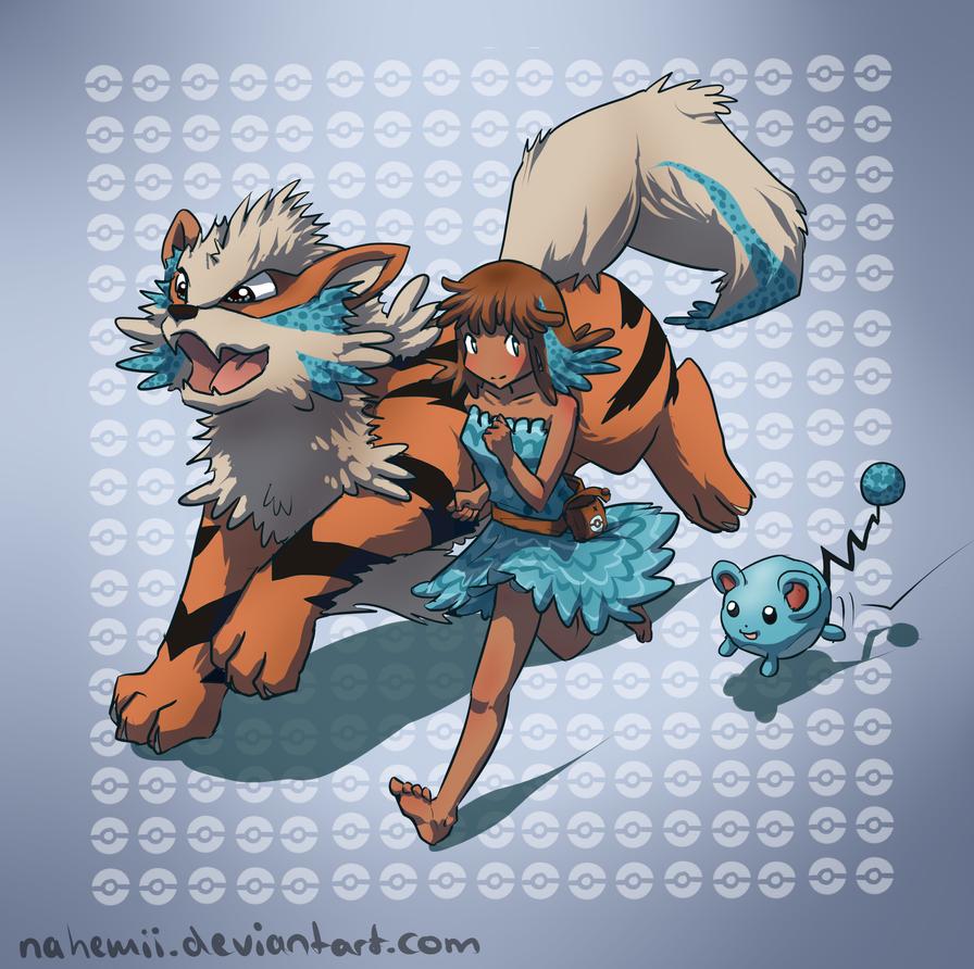 Pokemon Trainer Mimi by Nahemii