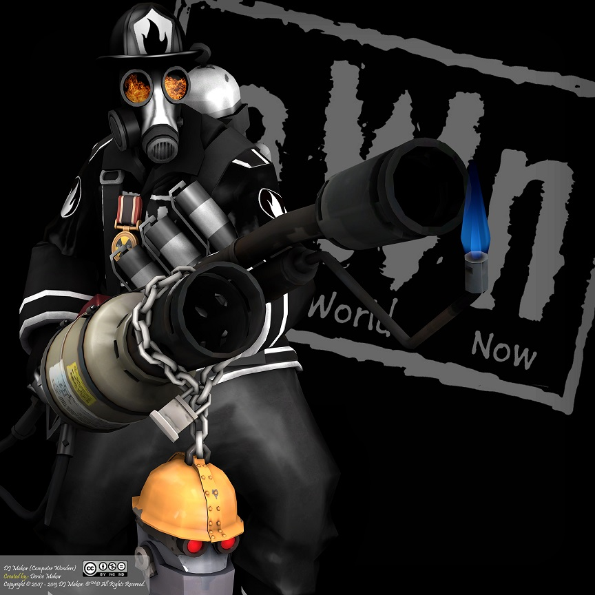 Sfm Tf2 Own Pyro C Steampic Pyromaniac V2 By